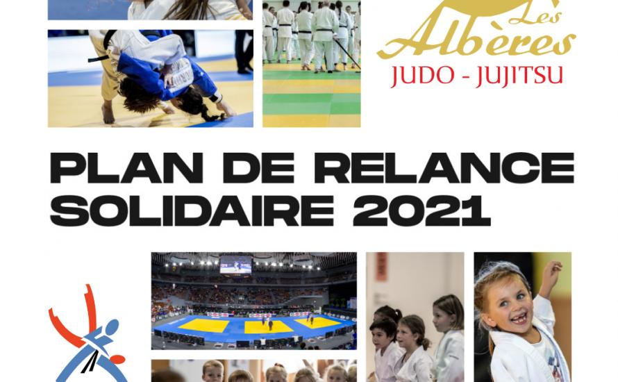 Plan de relance Solidaire 2021 FFjudo